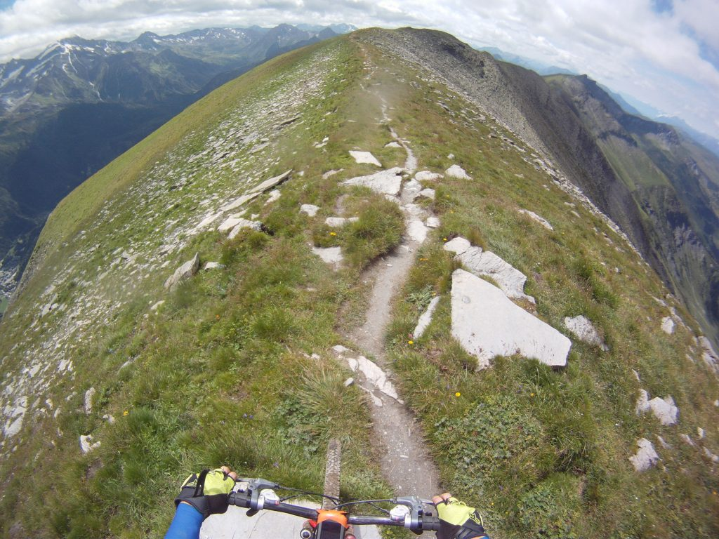 VTT vélo de descente