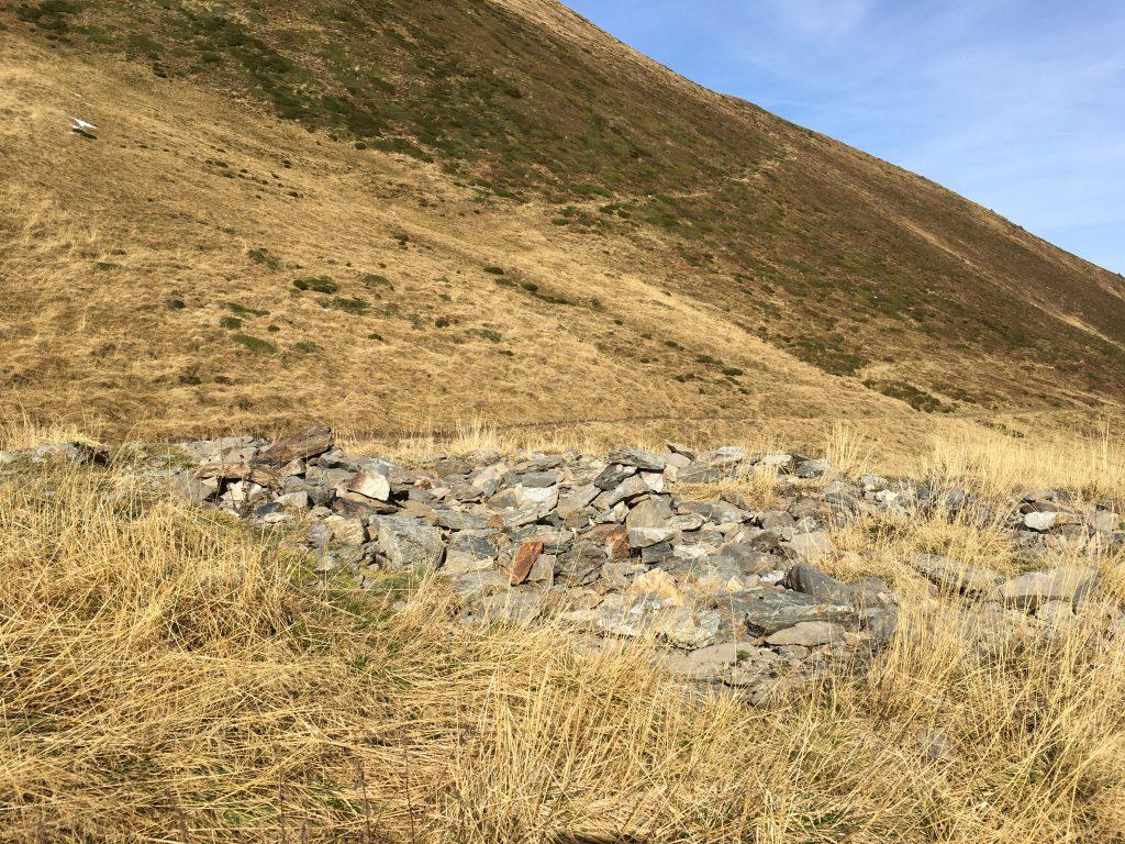 Ruines au Col du Tricot