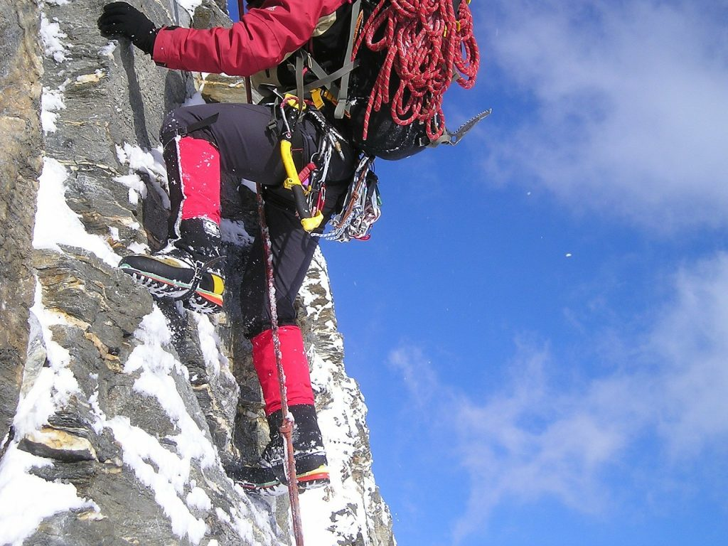 climb, ice climbing, equipment